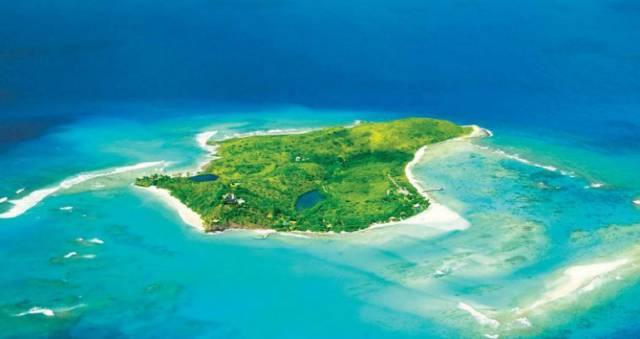 18. เกาะเน็คเกอร์, หมู่เกาะเวอร์จินของสหราชอาณาจักร