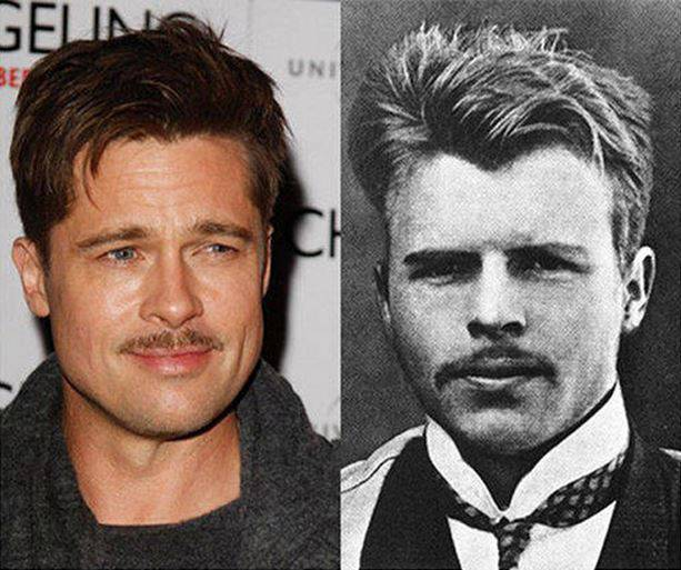 Brad Pitt กับ Hermann Rorschach ชายจากปี 1910