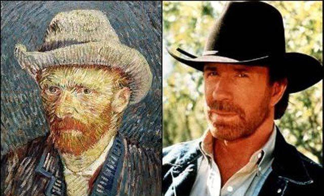 Chuck Norris กับ Van Gogh