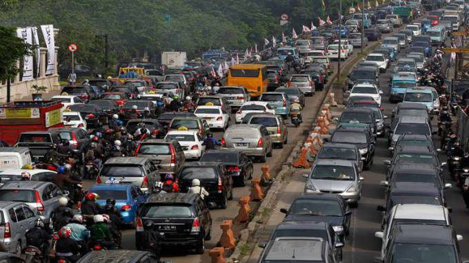 Indonesia-Traffic