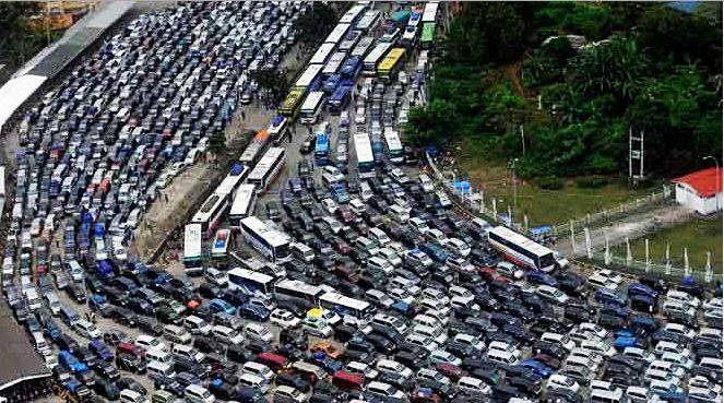 Indonesia-Traffic-Jam