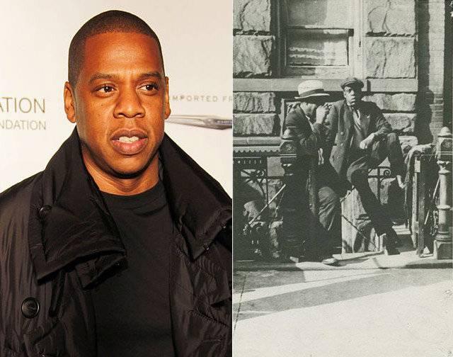 Jay-Z กับชายนิรนามคนหนึ่ง