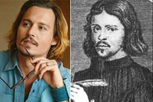 Jonnny Depp กับ Thomas Tallis นักดนตรีชาวอังกฤษ จากปี 1500