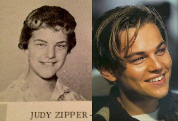 Leonardo DiCaprio กับ Judy Zipper จากปี 1960