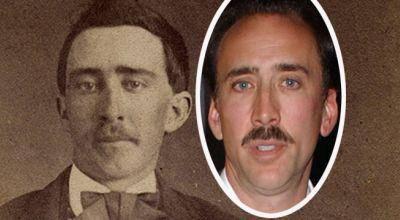 Nicolas Cage กับ ชายคนหนึ่งจากปี 1870
