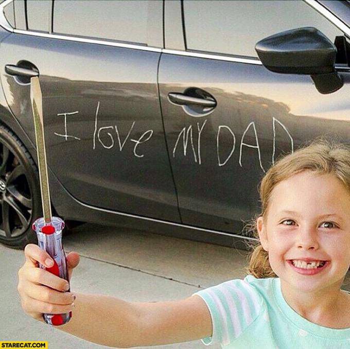 i-love-my-dad-on-a-car-with-a-screwdriver-daughter-kid