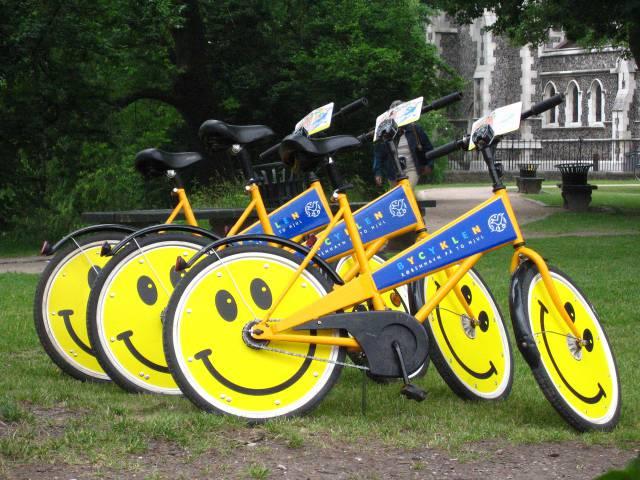 1. จักรยานฟรีๆ เมืองโคเปนเฮเกน