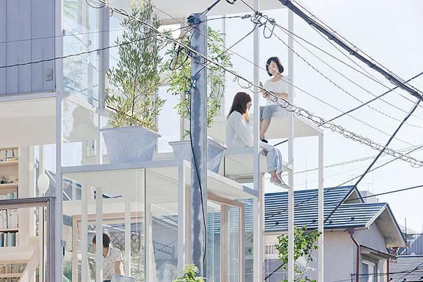 1. บ้านโปร่งใส ประเทศญี่ปุ่น1