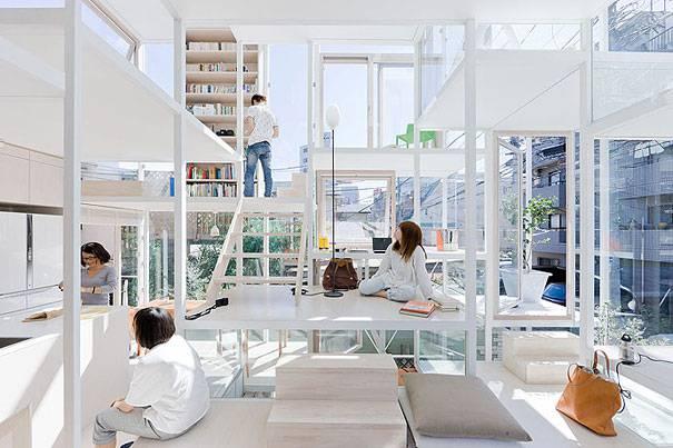 1. บ้านโปร่งใส ประเทศญี่ปุ่น2