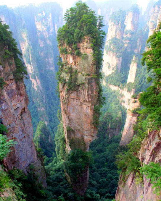 1. Tianzi Mountains