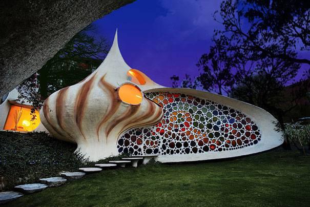 10. บ้านเปลือกหอยยักษ์ เม็กซิโก