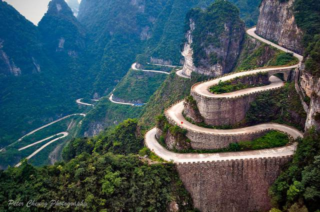 10. Road To Tianmen Mountains, Zhangjiajie