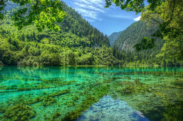 16. Jiuzhaigou Valley And National Park Located In Northern Sichuan Province Of Southwestern China