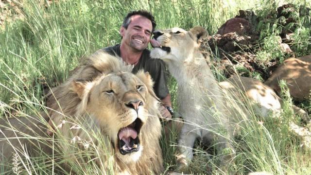 2. Kevin Richardson มนุษย์สิงโต4