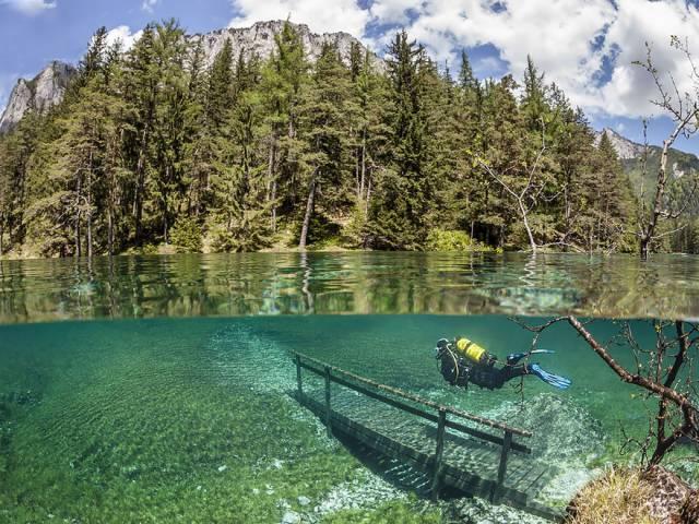27 Green Lake (grüner See), Austria