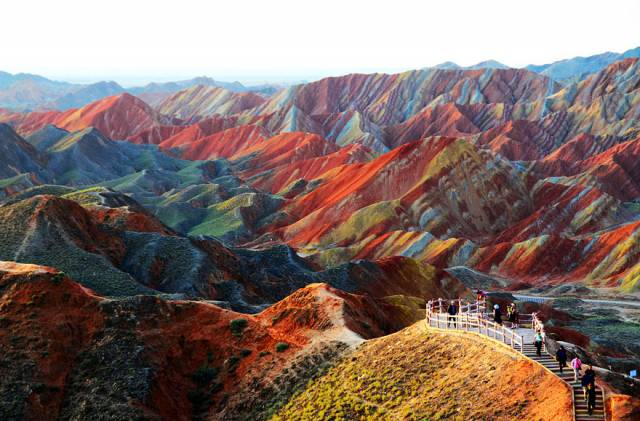 3. Zhangye Danxia Landform In Gansu