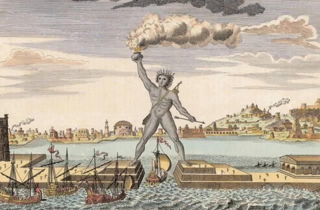 5.อนุสาวรีย์โคโลสซูสแห่งเกาะโรดส์ 1