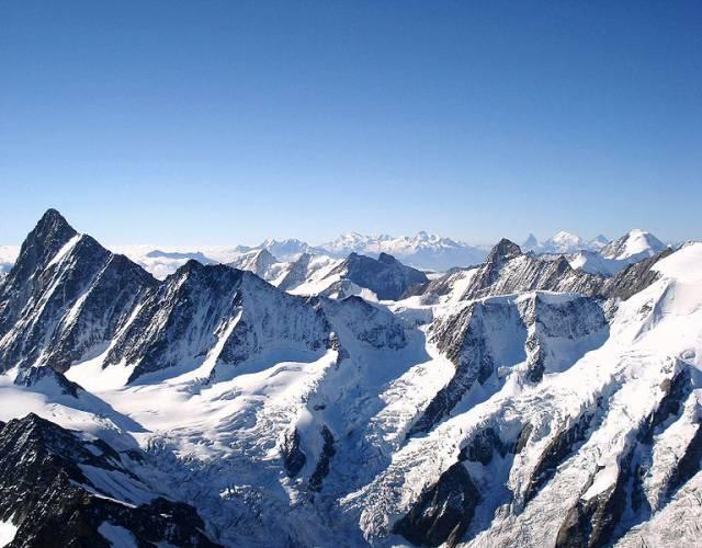 6. เทือกเขาแอลป์