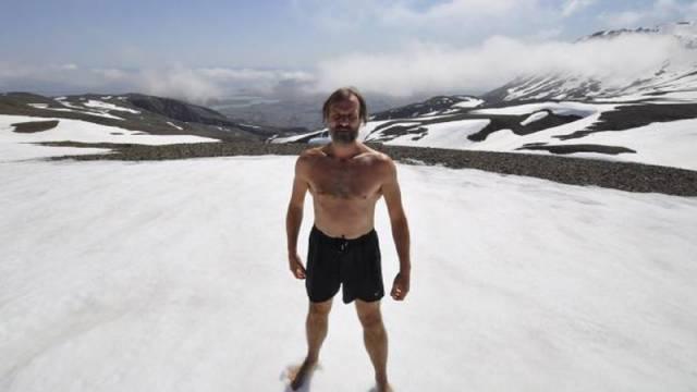 7. Wim Hof มนุษย์น้ำแข็ง