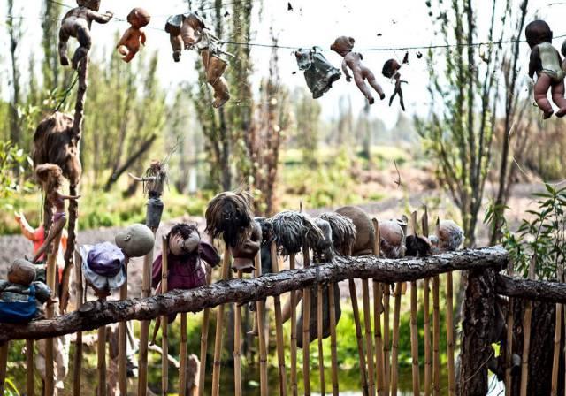 8. เกาะตุ๊กตา ในประเทศเม็กซิโก