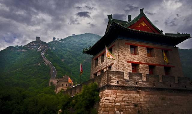 9. กำแพงเมืองจีน ประเทศจีน