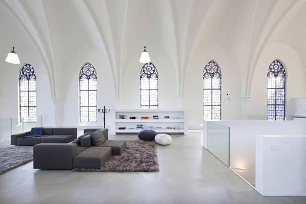 9. บ้านสมัยใหม่ แปลงมาจากโบสถ์ ประเทศฮอลแลนด์ 1