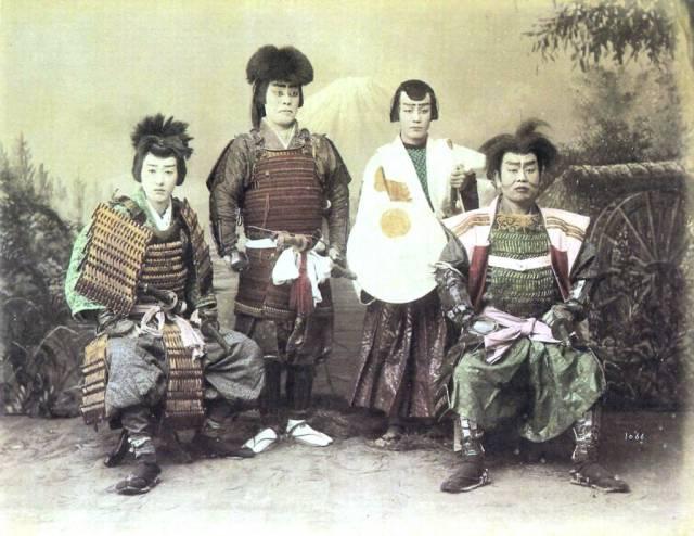 Samurai_in_1880