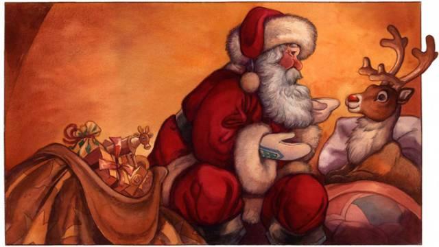 rudolf-meets-santa