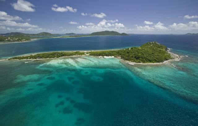 1. เกาะบัค, หมู่เกาะเวอร์จิน ของสหราชอาณาจักร