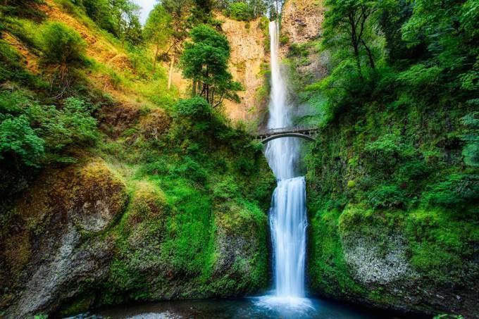 1. Multnomah Falls, Oregon