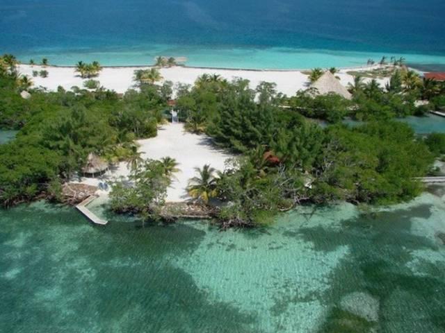 10.เกาะรอยัล เบลิซ, ประเทศเบลิซ ตอนกลางของทวีปอเมริกา