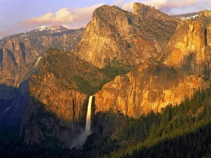 13. Bridalveil Fall, Yosemite, California