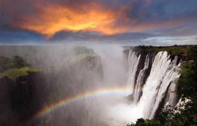 14. Victoria Falls, Zimbabwe