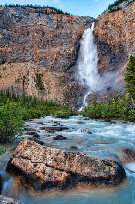 18. Takakkaw Falls, Canada