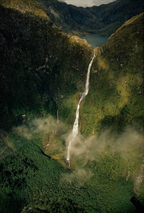 19. Sutherland Falls, New Zealand