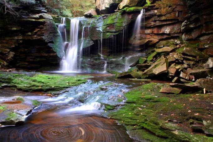2. Elakala Waterfalls, West Virginia