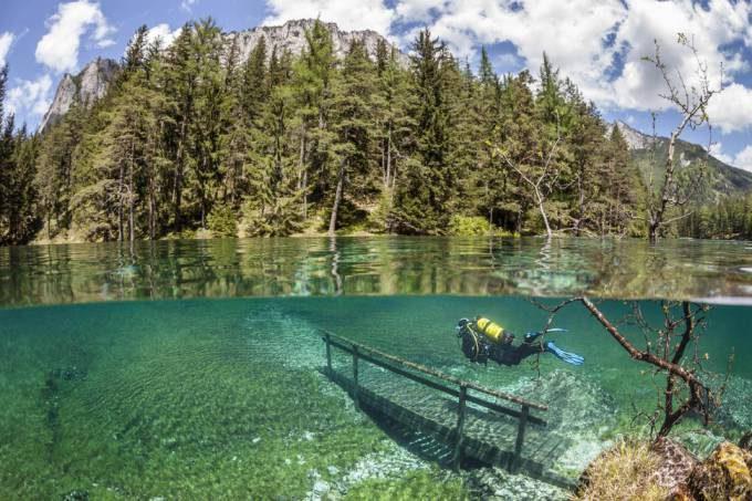 21. Green Lake in Austria