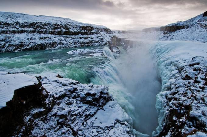 22. Gullfoss Waterfall, Iceland