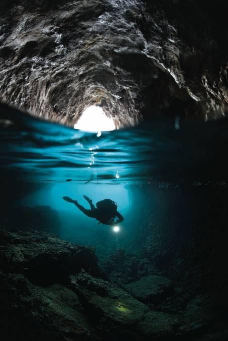 23. Blue Grotto in Capri, Italy
