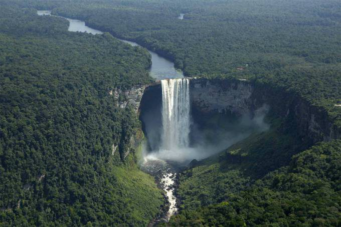 25. Kaieteur Falls, Guyana