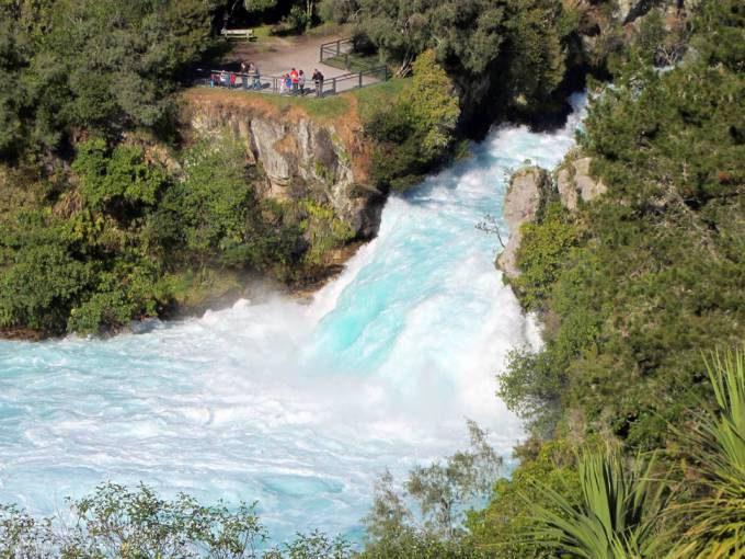 27. Huka Falls, New Zealand