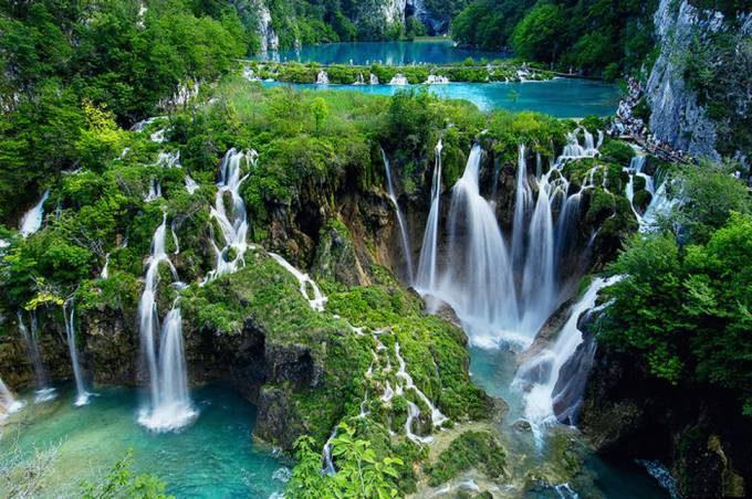 28. Plitvice Lakes Waterfall, Croatia