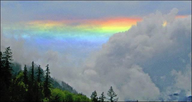 3. ปรากฏการณ์ รุ้งเพลิง (fire rainbow)