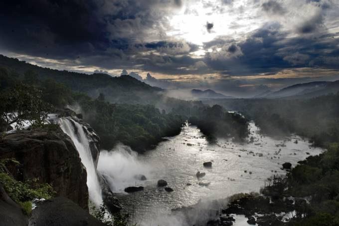 35. Athirapally Waterfalls, India