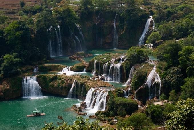 40. Ban Gioc Detian Waterfalls, Vietnam