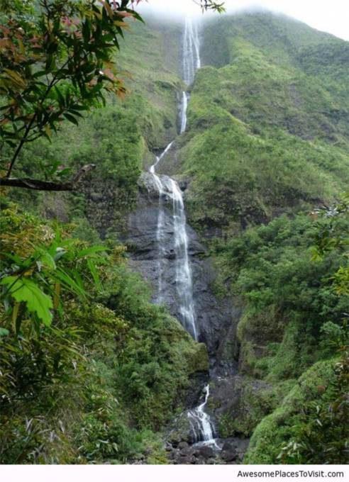 45. Cascade Blanche, Reunion Island