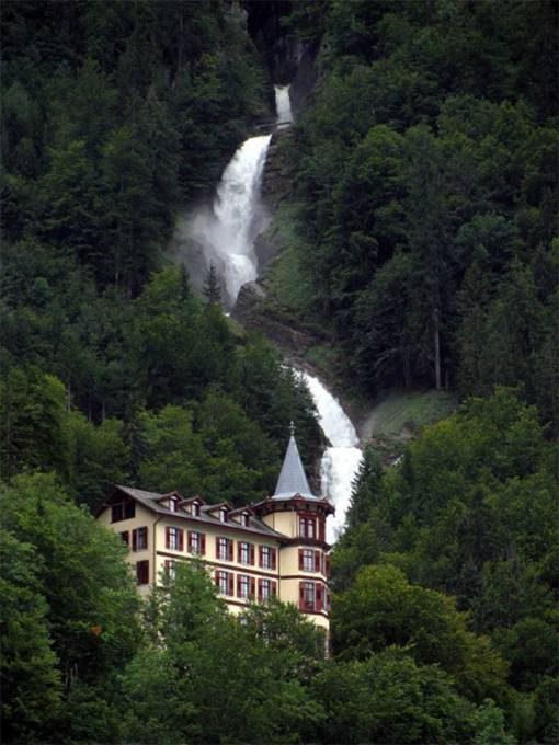 47. Giessbach Falls, Switzerland