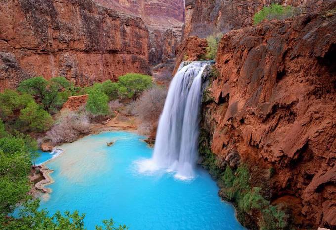 48. Havasu Canyon Falls, Arizona