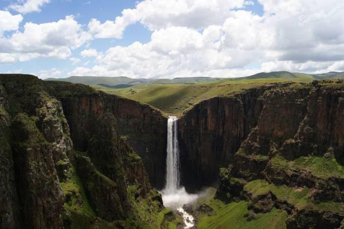 49. Maletsunyane Falls, Lesotho