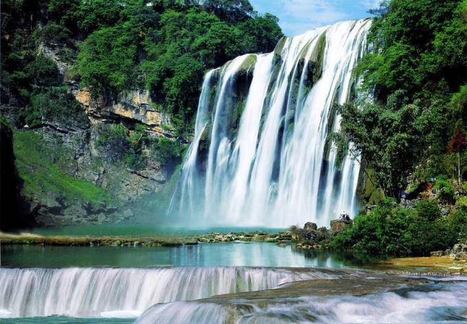5. Huangguoshu Waterfall, China